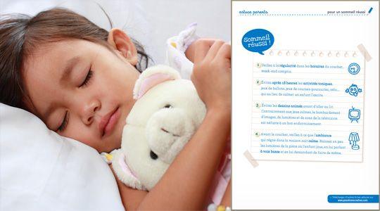 En respectant quelques règles, vous aidez vos enfants à bien dormir. Voici les quatre secrets d'un bon sommeil.