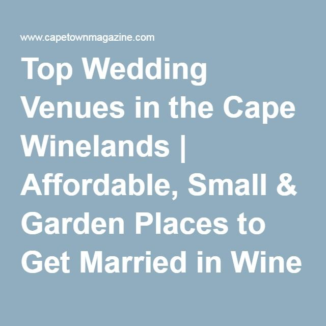20 best wedding venues images on pinterest for Best place to get married