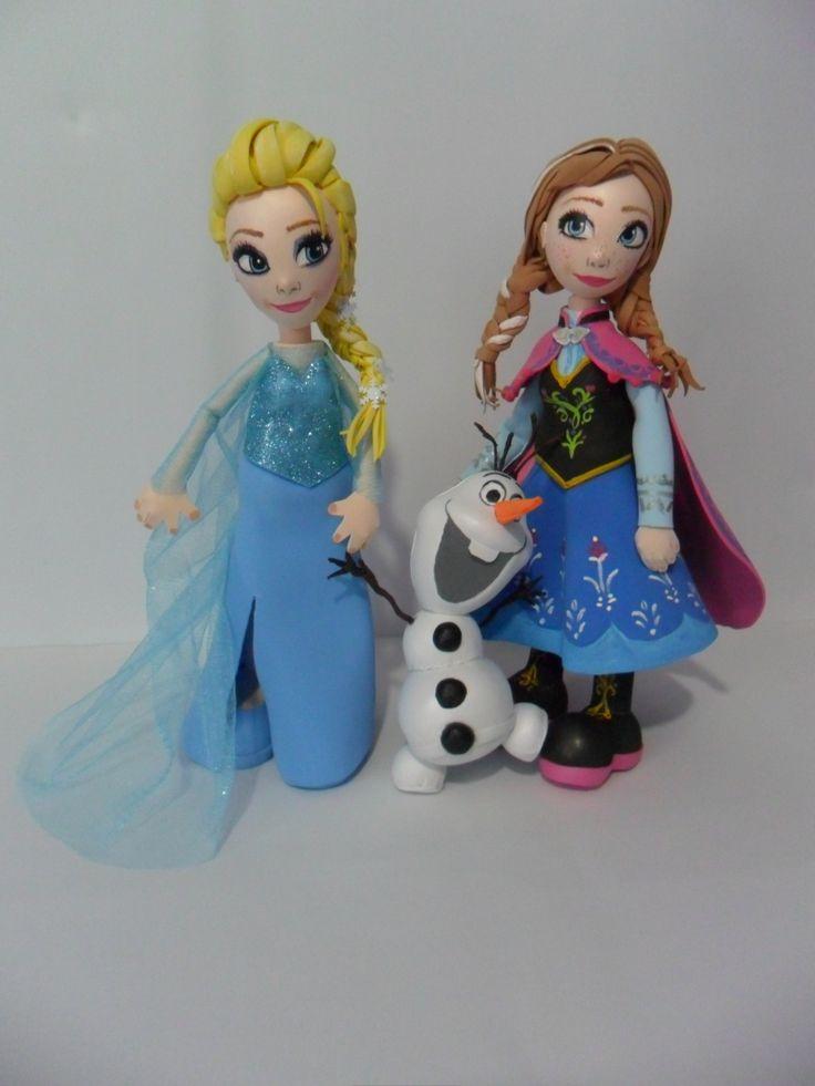 Estas adorables fofuchas princesas Anna y Elsa de Frozen