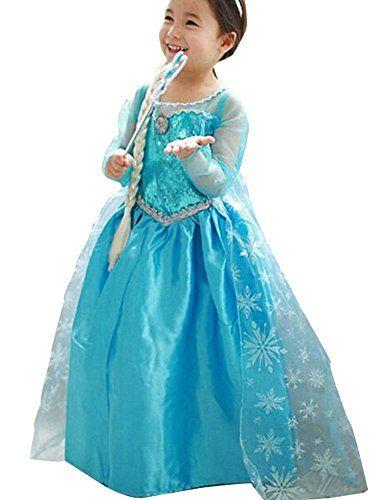 Toddler's Princess Elsa Party Dress-Up Costume