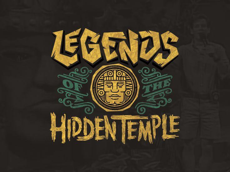 Legends of the Hidden Temple logo by Matt Kauzlarich
