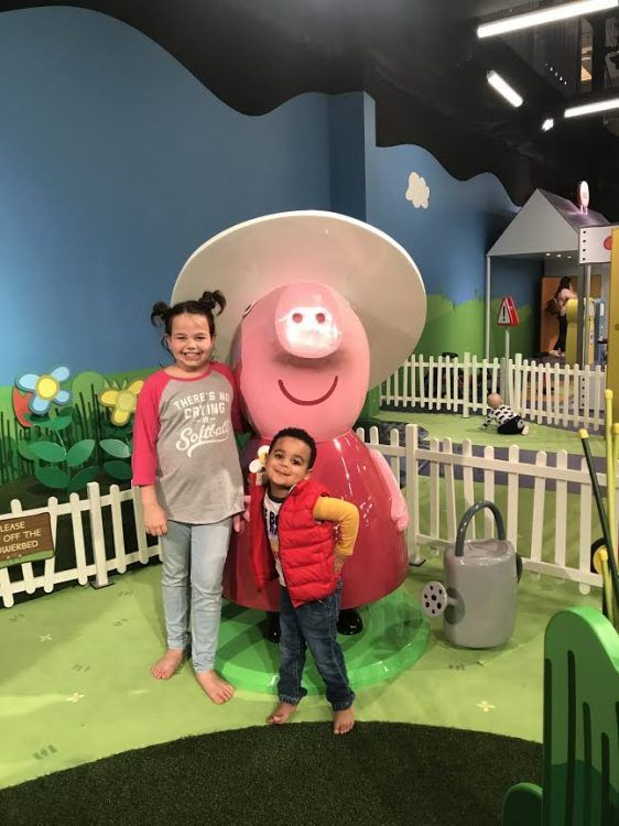 Peppa Pig World Of Play Now Open In Grapevine Mills Mall My Crazy Savings Peppa Pig World Peppa Pig Rebecca Rabbit