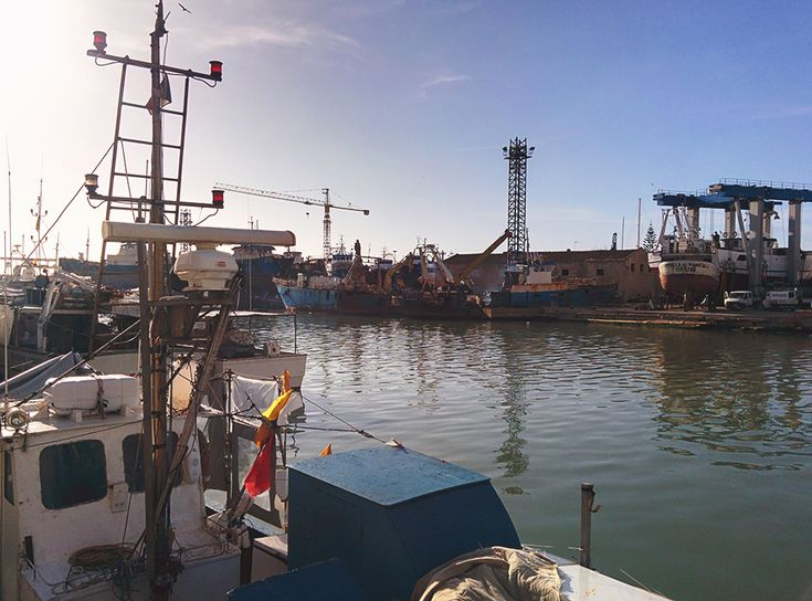 Chiara Magi - Sicilian Vibes - Old ships in the port of Mazara del Vallo
