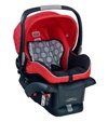 BRITAX infant car seats can be used rear facing only from 4 to 30 pounds, and are compatible with the BRITAX CHAPERONE and B-READY strollers and other major brands with the BRITAX adapter strap. A Chance of Showers on facebook! http://www.facebook.com/chanceofshowersonline?ref=tn_tnmn