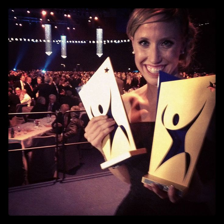 Lisa Norden a triple threat at Swedish Sports Awards
