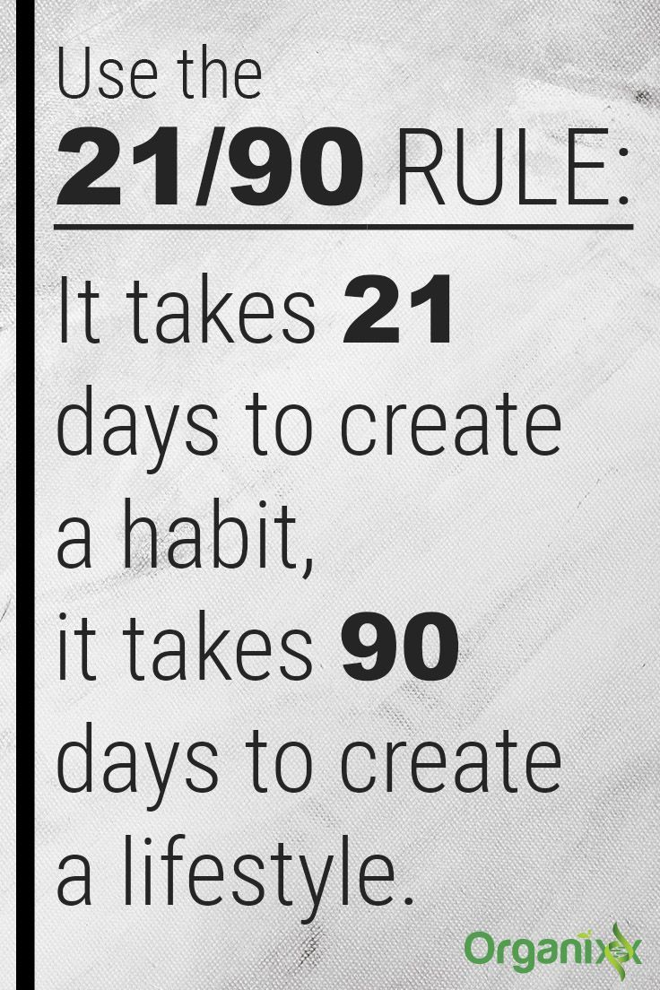 Healthy lifestyle habits: Use the 21/90 RULE. It takes 21 days to create a habit, it takes 90 days to create a lifestyle. For optimal wellness, click on the image above to check out types of superfood nutrition.
