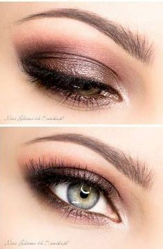 eye makeup for small hooded eyes - Google Search