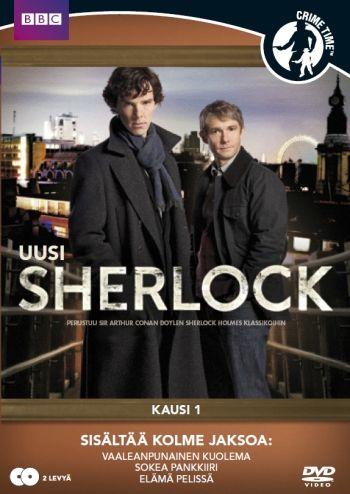 Sherlock kausi 1 (tarjoushinta 9,95€, norm. 19,95€)