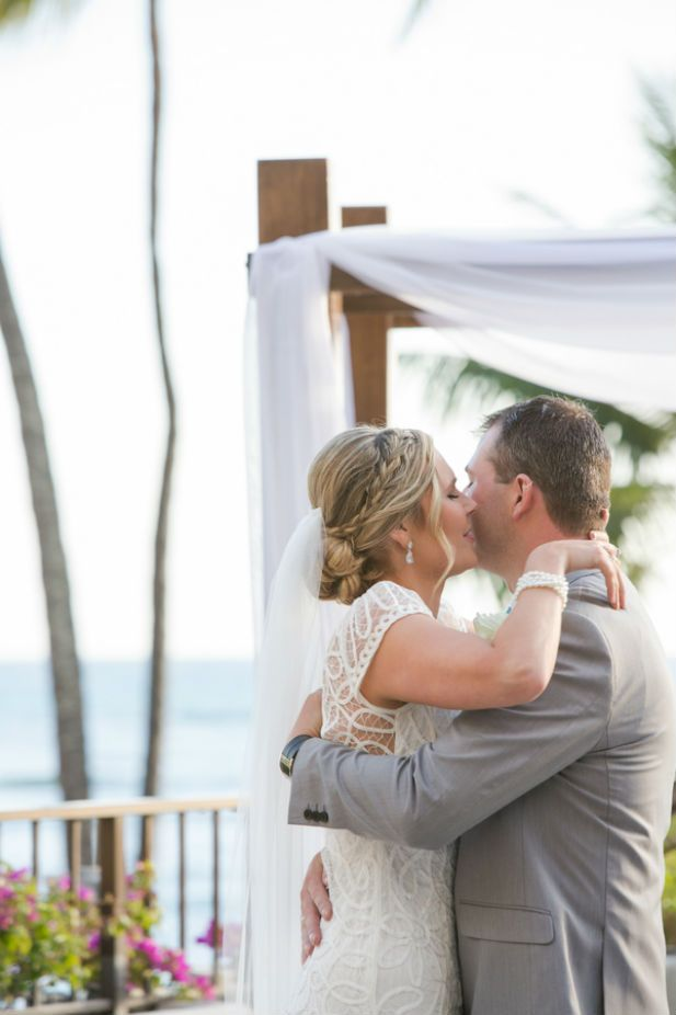 Classic Wedding at Halekulani, Hawaii (Photo by jeannemarie photography)