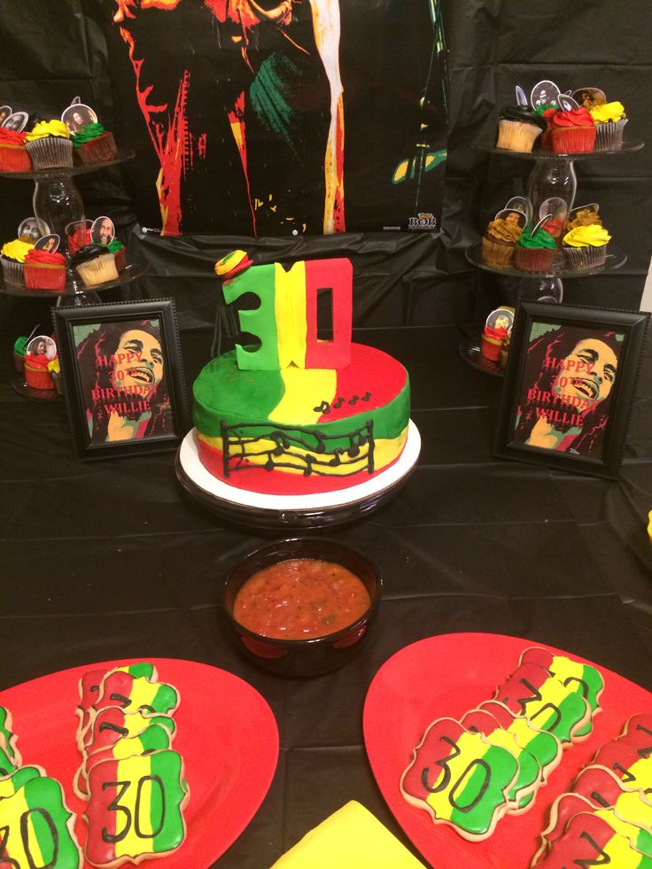 Bob Marley Themed Party