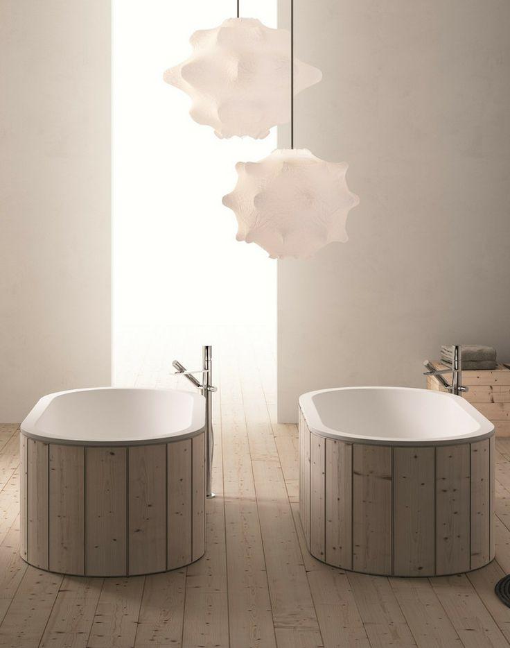 Freestanding Livingtec® #bathtub CIBELE by Ceramica Cielo | #design Studio APG