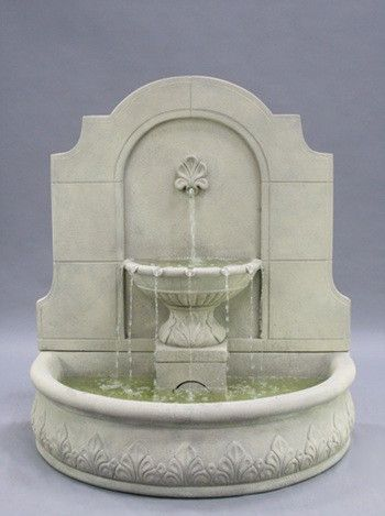 Add this captivating Provincial Outdoor Wall Water Fountain to your garden wall or fence to create a tranquil outdoor nook and cranny filled with water's soothing, tinkling sound. A piece made out of