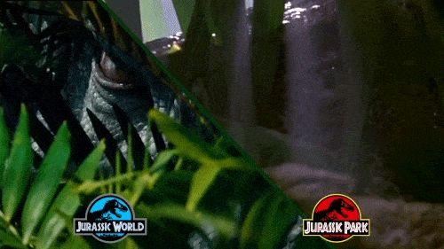 Jurassic World's Indominus Rex/Jurassic Park's Raptor