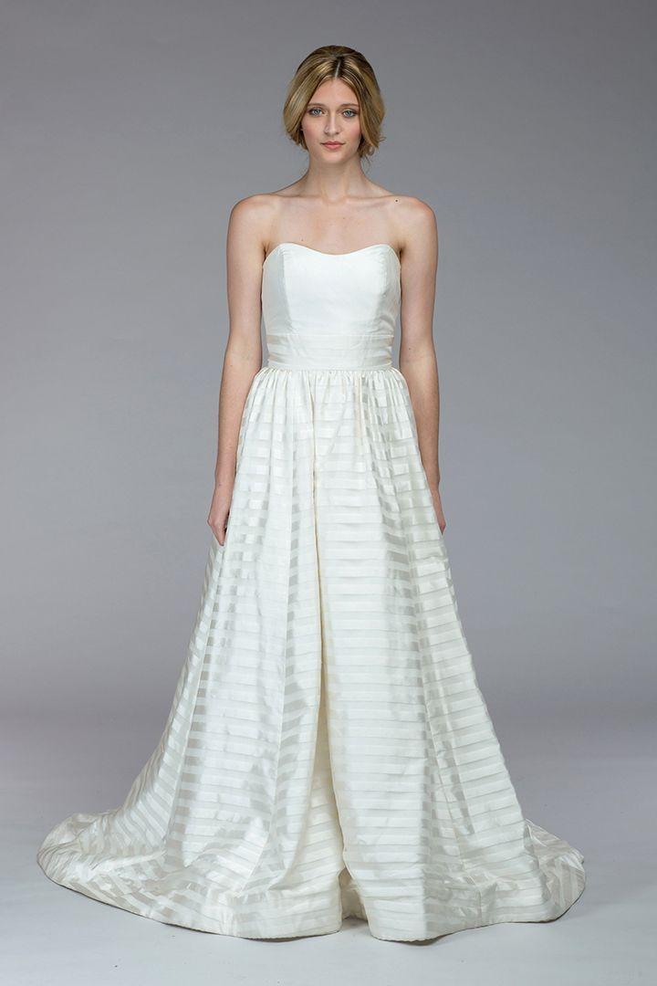 Kate McDonald/LulaKate Powell wedding gown, available at Something White, A Bridal Boutique