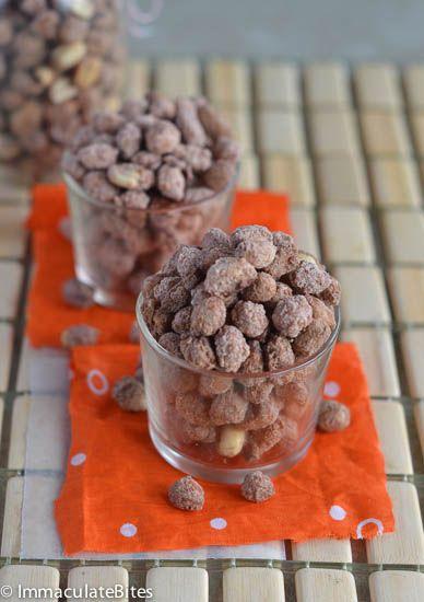 Cacahuete dulce (azúcar Cacahuetes conocido como nueces confitadas)
