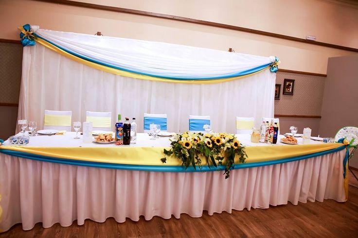 Napraforgós kék-sárga esküvő - Sunflower. Blue-yellow wedding
