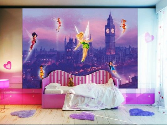 Disney Fairytale Wallpaper Mural By WallandMore! Beautiful Addition To Your  Childrenu0027s Room. Part 73