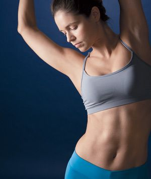 how to make your ab muscles show
