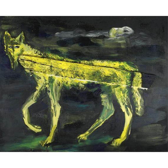 Rainer Fetting, Yellow Wolf