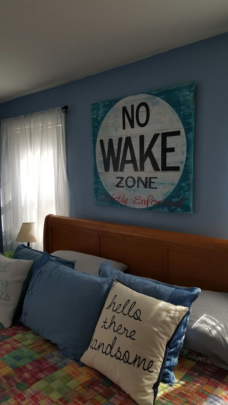 Love The Pillow Do One Hello Handsome Theb Other Good Morning Beautiful Nautical Bedroom Decorcoastal