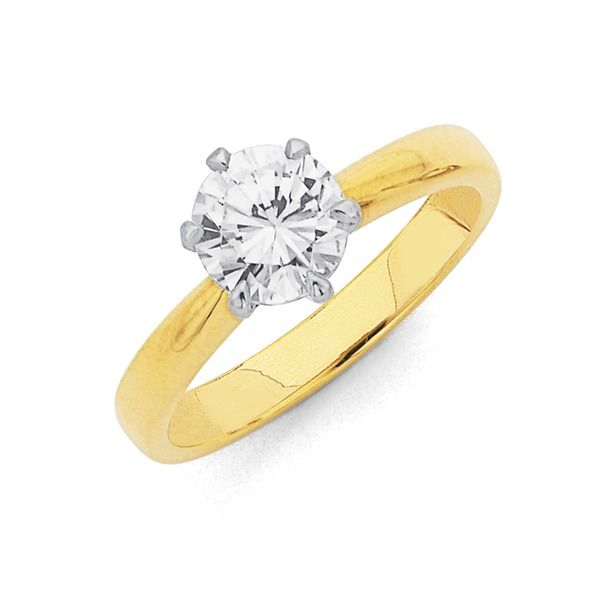 The timeless 1ct Diamond Solitaire Engagement Ring is a sure way to impress!