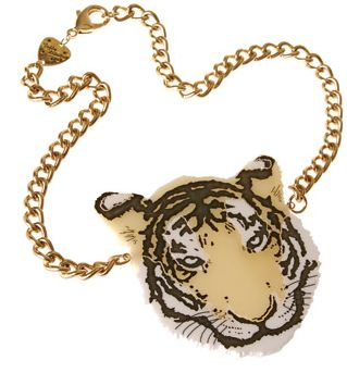 Tatty Devine Tiger is another of my fav necklaces... I have it in 2 colours! X