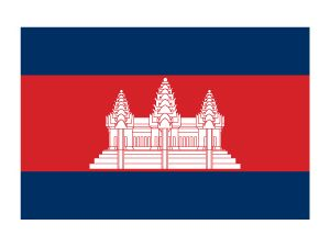 Cambodia Flag Tattoo #flags #combodiaflag #temporarytattoos #t4aw