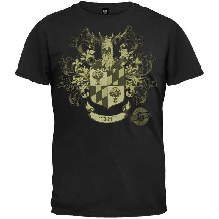 ... Shirt - Monty Python- Knights Of Ni Crest