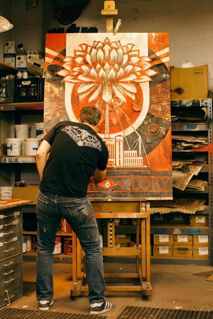 #shepardfairyandjasperjohns http://www.widewalls.ch/the-insistent-image-of-shepard-fairey-and-jasper-johns/