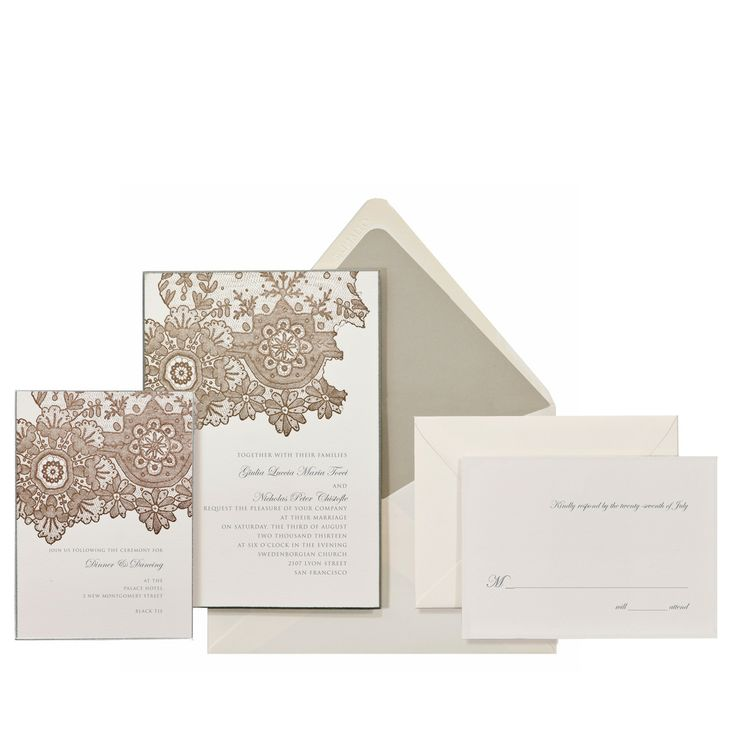 print yourself wedding invitations kit%0A Wedding Stationery   letterpress printed in a rich coffee ink on extra  thick     lb