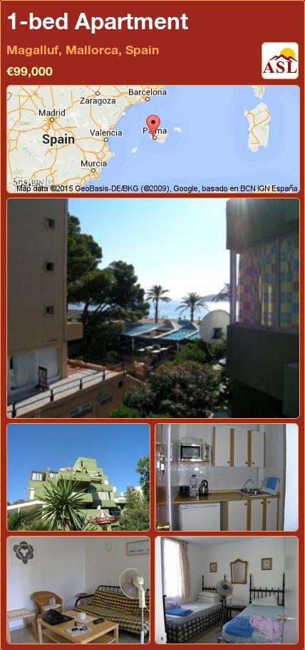 1-bed Apartment in Magalluf, Mallorca, Spain ►€99,000 #PropertyForSaleInSpain