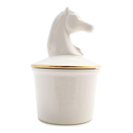 EB Horse Jar & Sugar Bowl