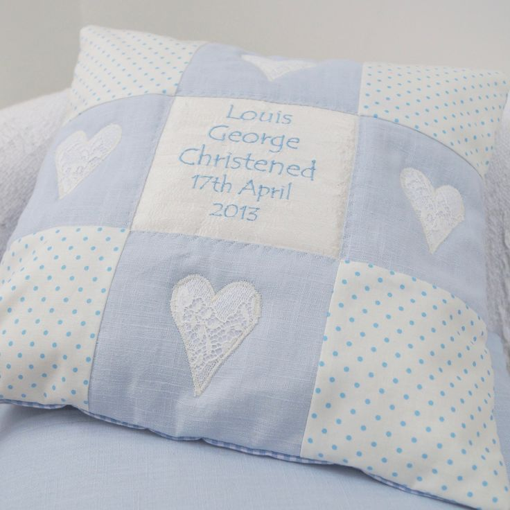 Baby Cushion Blue