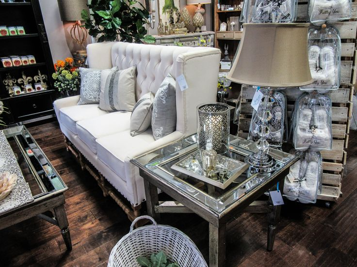 gorgeous vintage or modern living room decor and furniture here at blu ivory home decor in - Home Decor Houston