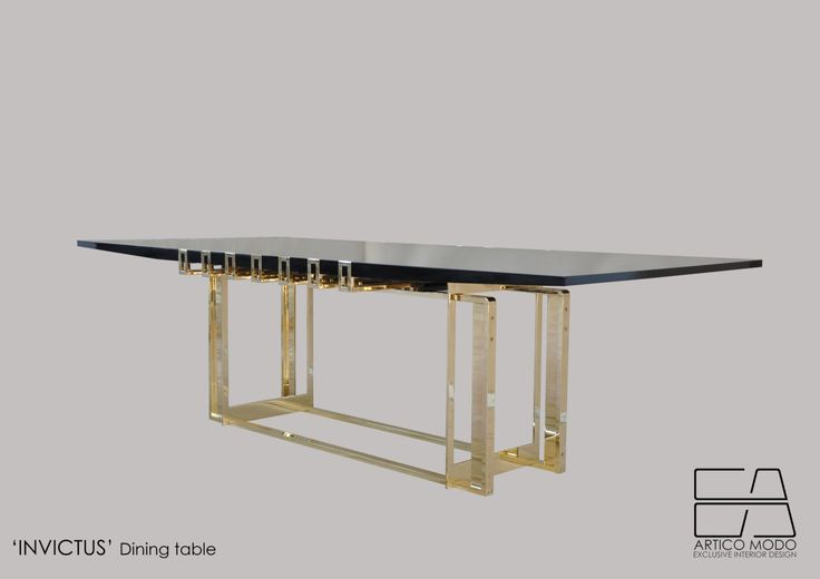 'Invictus' dining table