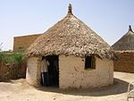 House in Toteil near Kassala, Sudan.