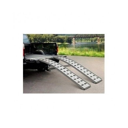 Pickup Truck Ramps Loading Heavy Duty ATV Aluminum Bed Tailgate Quad 3000LB Wide #Highland
