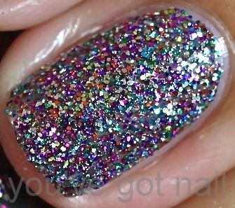 One of the most beautiful polishes, ever.  OPI's Mad as a Hatter.