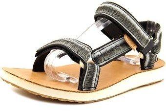 Teva Universal Ombre Women Open-toe Canvas Black Sport Sandal.