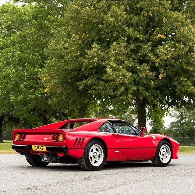 Ferrari 288 GTO  #ferrari #ferrari288gto #classic #vintagecar #elegance #luxury #luxurycar #supercar #carporn #lifestyle #lux #magazine #style #road #gentleman #keepitclassy #keepitsimple #race #italy #auto #automotive #instacar #follow