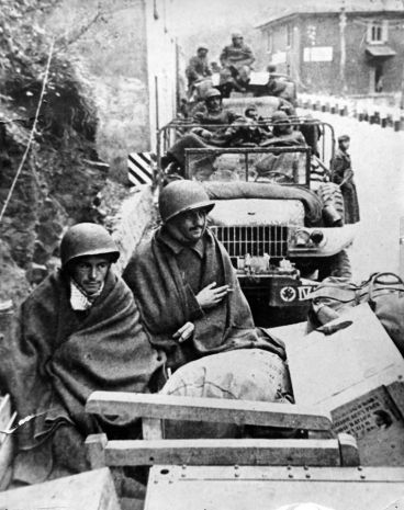 Brazilian soldiers on Monte Castelo, Italy.