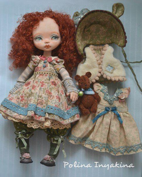 Dolls by Polina Inyakina