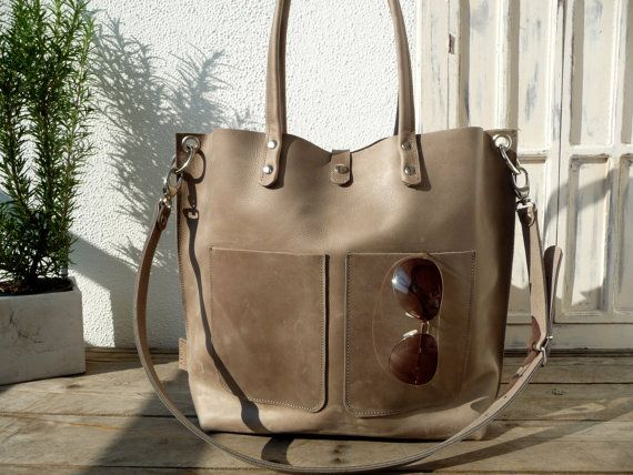 Large leather bag, Leather bag, Leather shopping bag, Shoulder bag leather, Leather bag woman, big leather bag, Leather bag, Leather bag,…