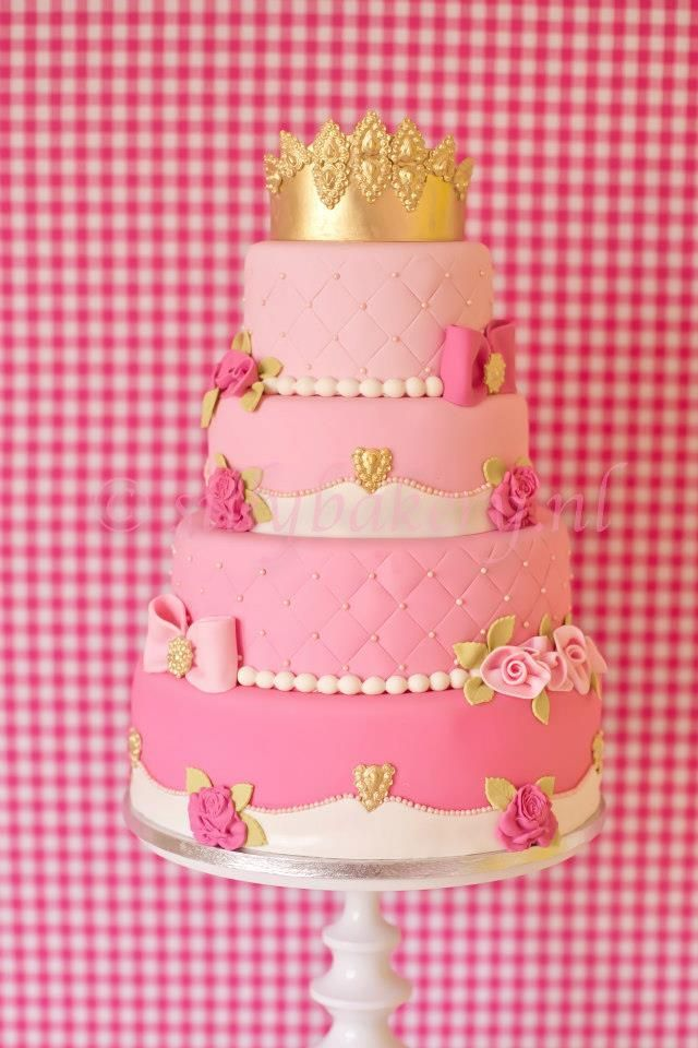 Princess Cake Idea, need to get this made for her, she will love it!