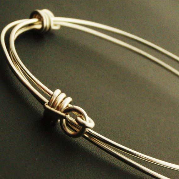 silver bangle on Etsy favmoongirl