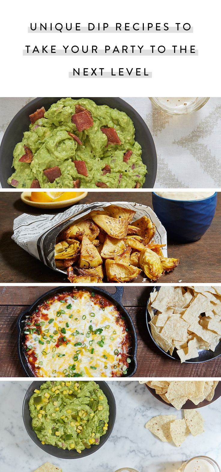 Wverything from avocado hummus to Snickers dip. Plus, get the recipes for 11 crunchy foods to dip that aren't chips via @PureWow