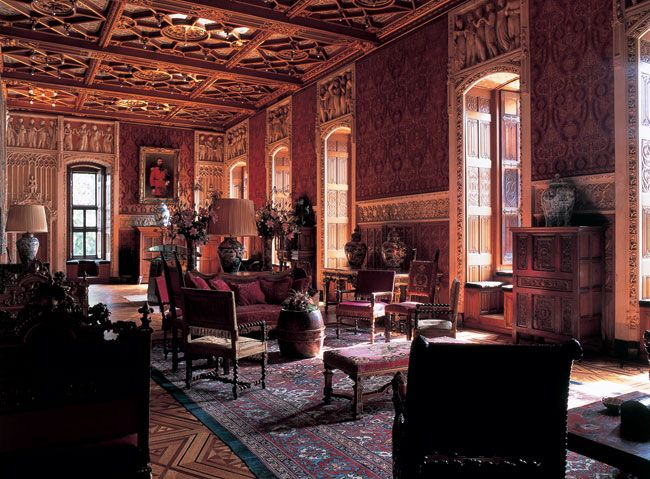 Ball rooms were important in the Middle Ages. Here is the ...