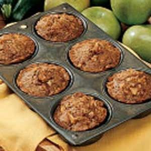 Zucchini Carrot Muffins Recipe -<B>Meet the Cook:</B> No matter when I make these muffins - for breakfast, or for lunch to serve with a bowl of soup or salad - my husband devours them! He's retired from the Air Force, and we have four grown children. Gardening's my top hobby. -Loretta Baline, South Burlington, Vermont