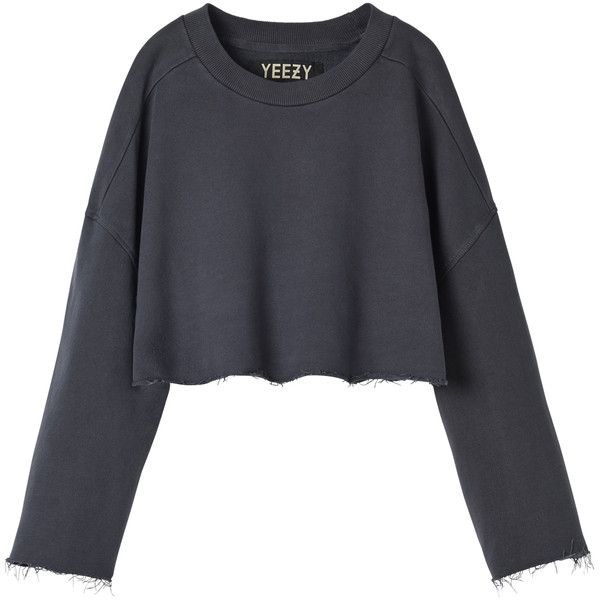 Yeezy Sweatshirt 1881050 Pyg Liked On Polyvore Featuring Tops