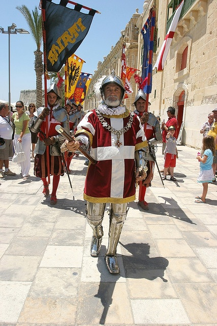 Knights of Malta. Learn English in Malta with an experienced Eurolingua Institute English Homesay Tutor and return home speaking like a native!! http://www.eurolingua.com/programmes-mainmenu-100/language-programmes/language-homestays-worldwide-mainmenu-472